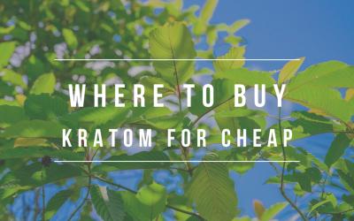 Where To Buy Kratom For Cheap
